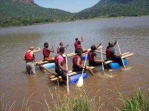 RT trip raft