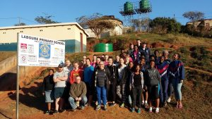 2017 South African Student Project – Work has begun!